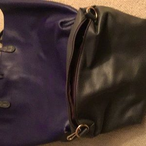 Bag with a small clutch inside